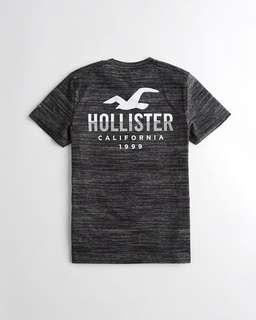 [INSTOCK] Hollister Printed Graphic Tee (XS)