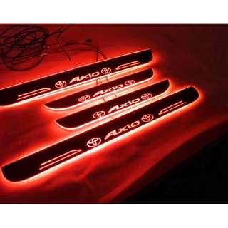 Toyota Axio Animated LED Scuff Plate