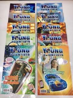Young Scientists Level 4 (31-40) Collection of 10 books