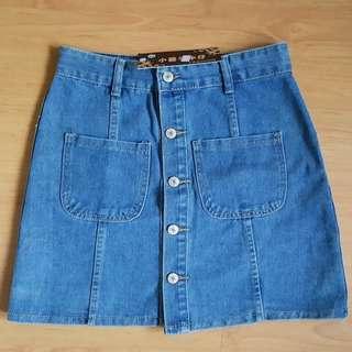 🆕️ BNWT Button Skirt