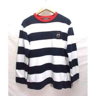 Polo Ralph Lauren Cross Flag Striped Colour Sweatshirt