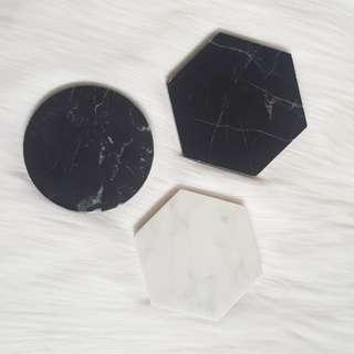 🆕️ BN Black Hexagon Marble Slab