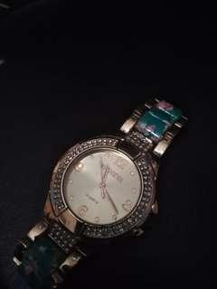 Geneva diamond goldwatch