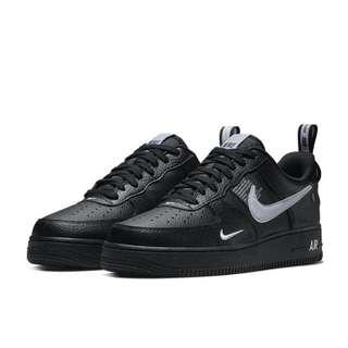 Authentic Nike Air Force 1' 07 Utility Black