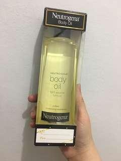 Authentic Neutrogina Body Oil