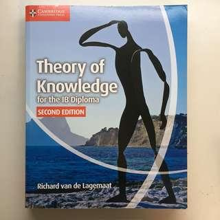 Cambridge Theory of Knowledge for the IB Diploma 2nd edition