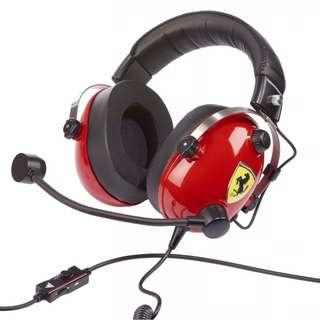 🚚 Thrustmaster T.Racing Scuderia Ferrari Edition Gaming Headset (PC/Xbox One/PS4)