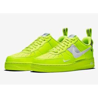 Authentic Nike Air Force 1' 07 Utility Volt