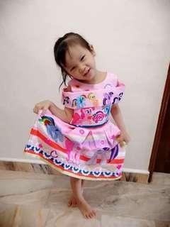 🚚 BN little pony dress