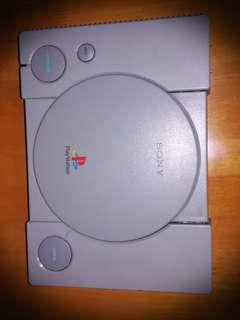 old ps1 console