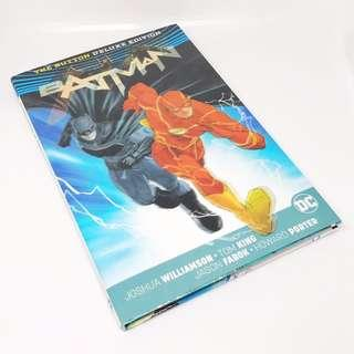 Batman/The Flash The Button Deluxe Edition Hardcover