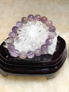 紫幽靈手串(10.5mm)