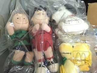 [BN] McDonalds Vintage 1990s Peanuts Muppets set