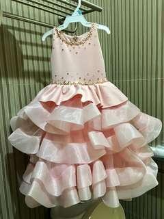Custom Made 1st Birthday Gown