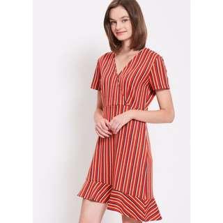 PADINI stripes dress