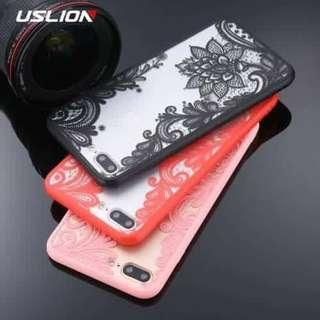 🔥Iphone Floral Lace Case for Iphone 6 6s 7 8 Plus + 🔥
