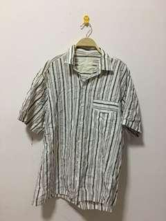 Men clothing striped shirts