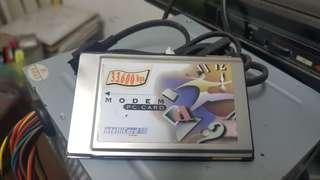 Intellicard PCMCIA 33.6 Modem Card