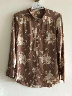Wilfred flower blouse