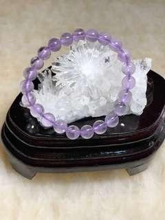 薰衣草紫水晶手串(8mm)