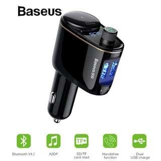 Baseus Locomotive Bluetooth MP3 Car Charger