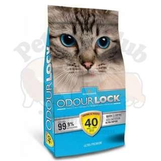 加拿大 Intersand Odour Lock 鎖臭40天無塵貓砂 6kg / 13.23lbs