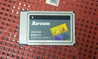 Xircom CreditCard Modem 28.8Mbps