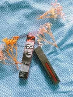 NARS Holiday 2018 Collection Powermatte Lip Luster限量金屬水彩唇釉 #Pierce閃爍酒紅色