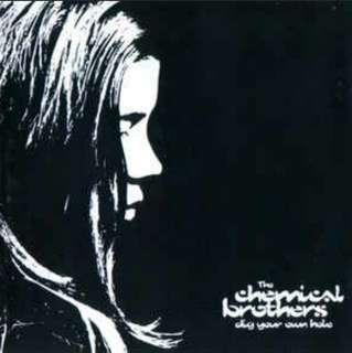 arthcd CHEMICAL BROTHERS Dig Your Own Hole CD