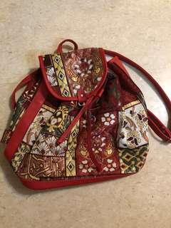 Red Turkish Backpack