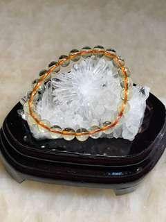 黃水晶手串(9mm)