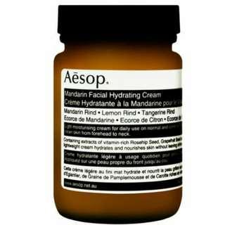 aesop mandarin facial hydrating cream