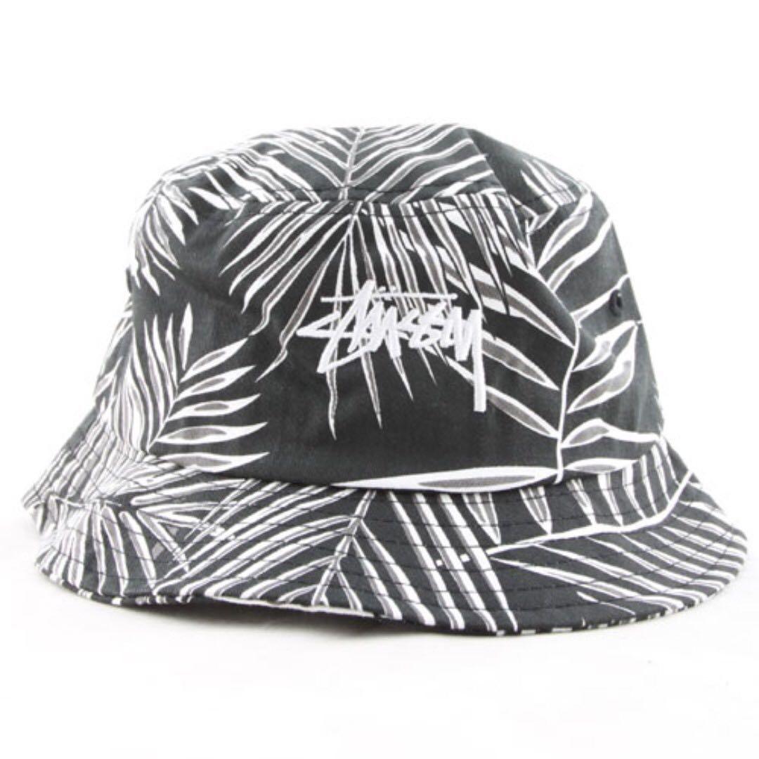 1f8f82c168c 全新Stussy palm bucket hat black 漁夫帽海灘帽cap 帽nike nsw adidas ...
