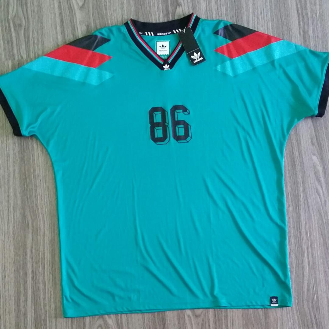 Adidas Originals Football Jersey Silas No 86 Skateboarding Xxl 2xl