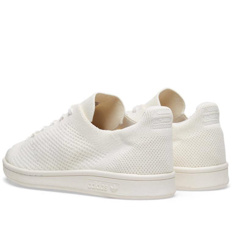 097ed8781ccd1 Adidas x Pharrell Williams Hu Stan smith BLANK CANVAS TRIPLE WHITE  primeknit sneakers trainers lace up shoes 穿白色限量版針織休閒鞋波鞋布鞋