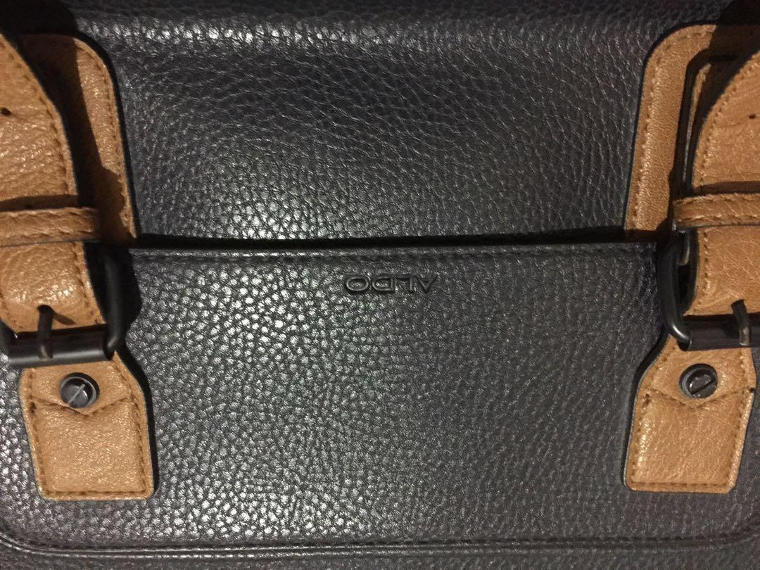 d6540f6400ab ALDO Authentic and Original Briefcase Laptop Bag