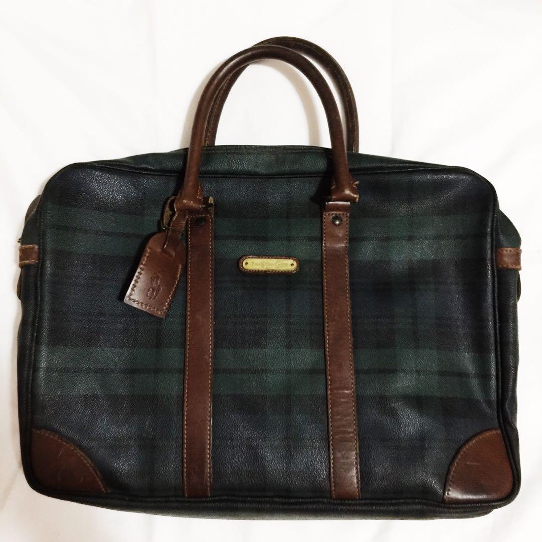 63b445a15eae Authentic Polo by Ralph Lauren Laptop Document Bag