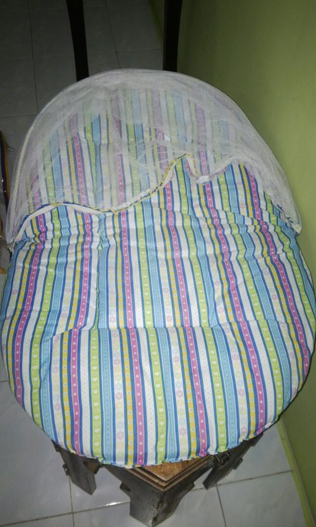 Baby Mattress with Mosquito Net