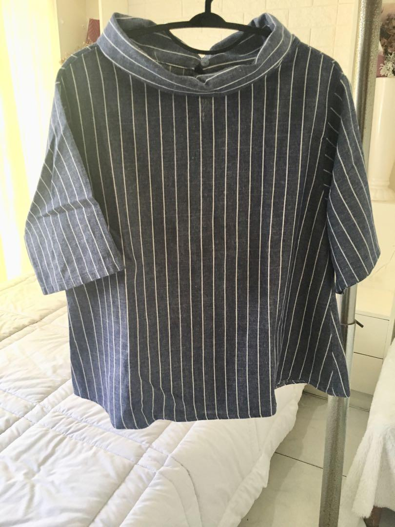 Bangkok Striped blouse