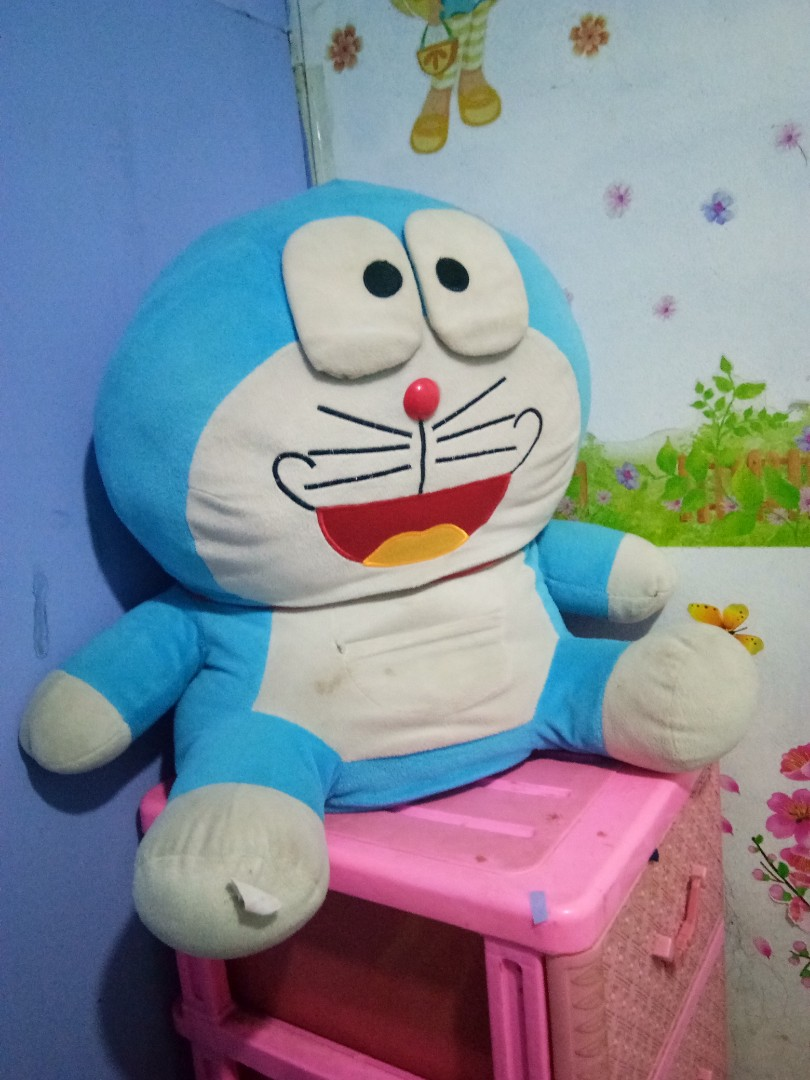 BONEKA DORAEMON JUMBO, Babies & Kids, Girls' Apparel, 8 to 12 Years on Carousell