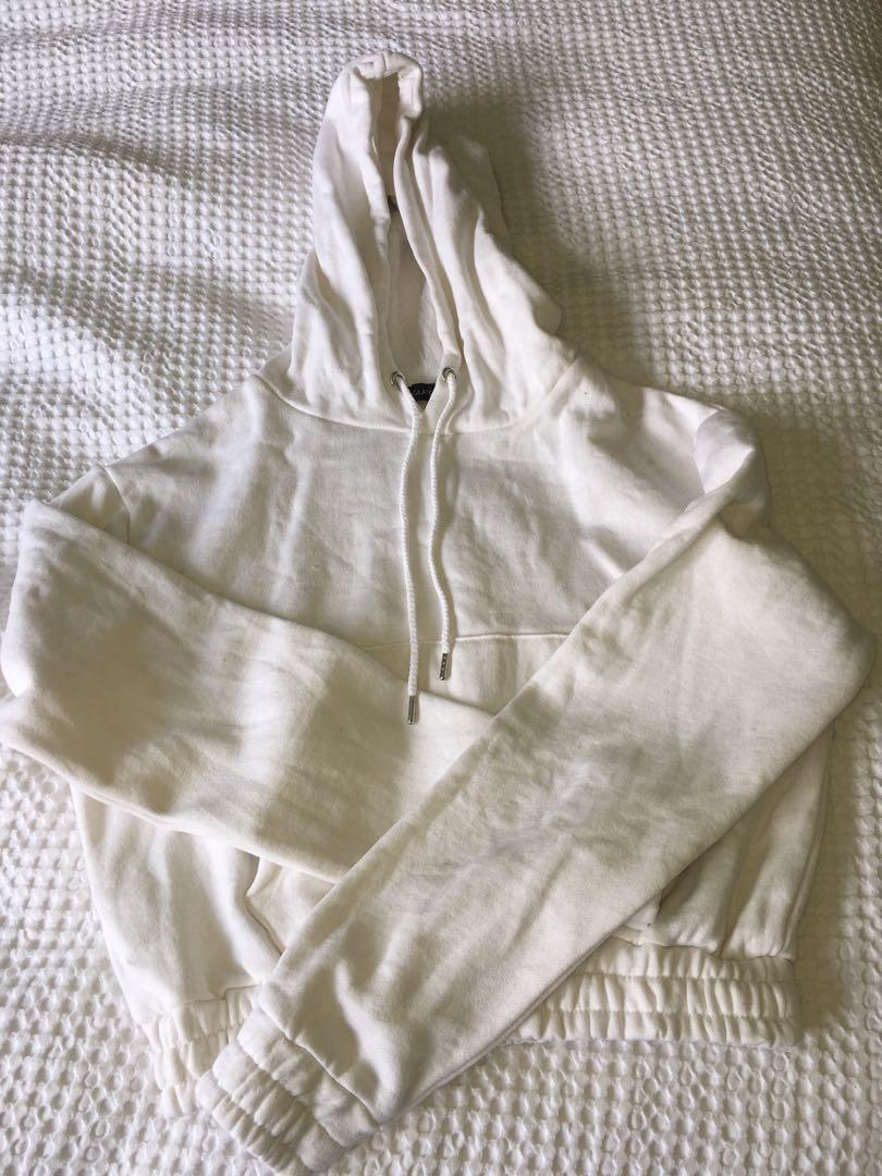 Brand new glassons cropped hoodie