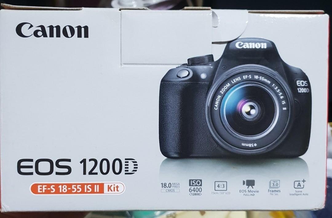 Canon EOS 1200D DSLR, Photography, Cameras, DSLR on Carousell