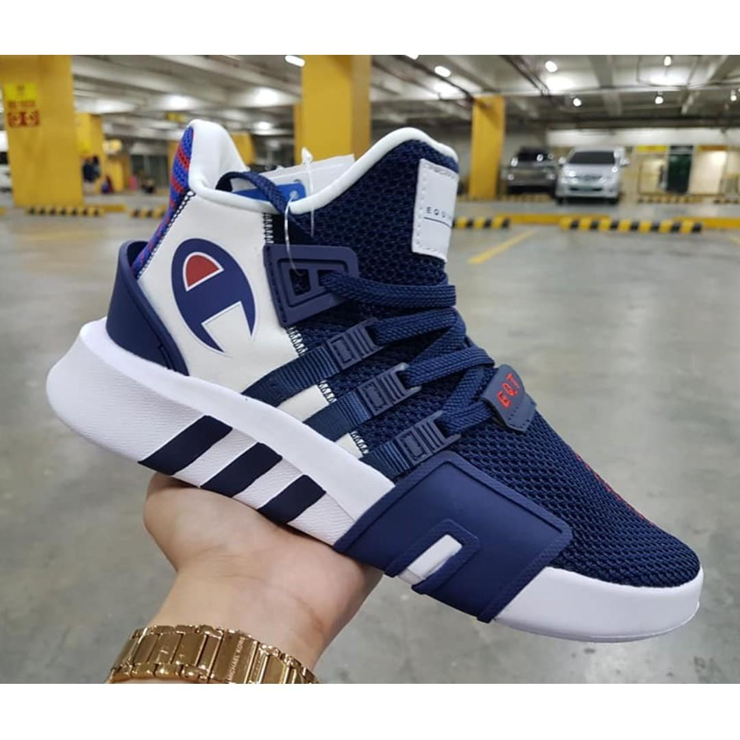 solamente Para un día de viaje Legado  CHAMPION x ADIDAS EQT BASKETBALL ADV, Men's Fashion, Footwear, Sneakers on  Carousell
