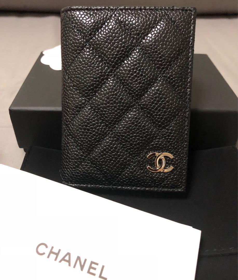 aa6034ac36cf92 Chanel Cardholder Caviar in SHW, Luxury, Bags & Wallets, Wallets on ...