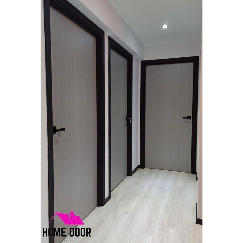 . FULL SOLID Laminated Bedroom Doors for HDB   BTO