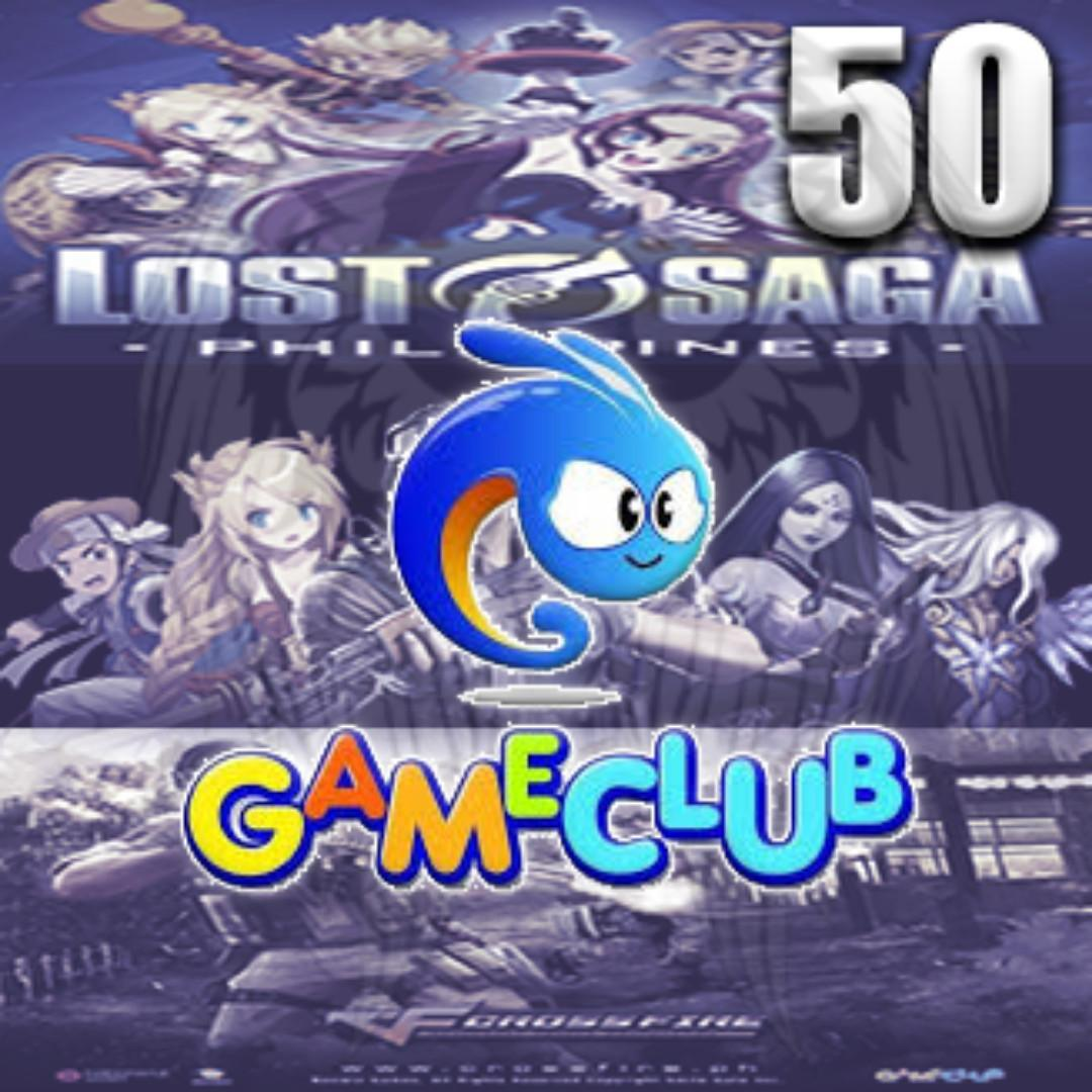 Game Club 50 eCoins, Tickets/Vouchers, Gift Cards & Vouchers