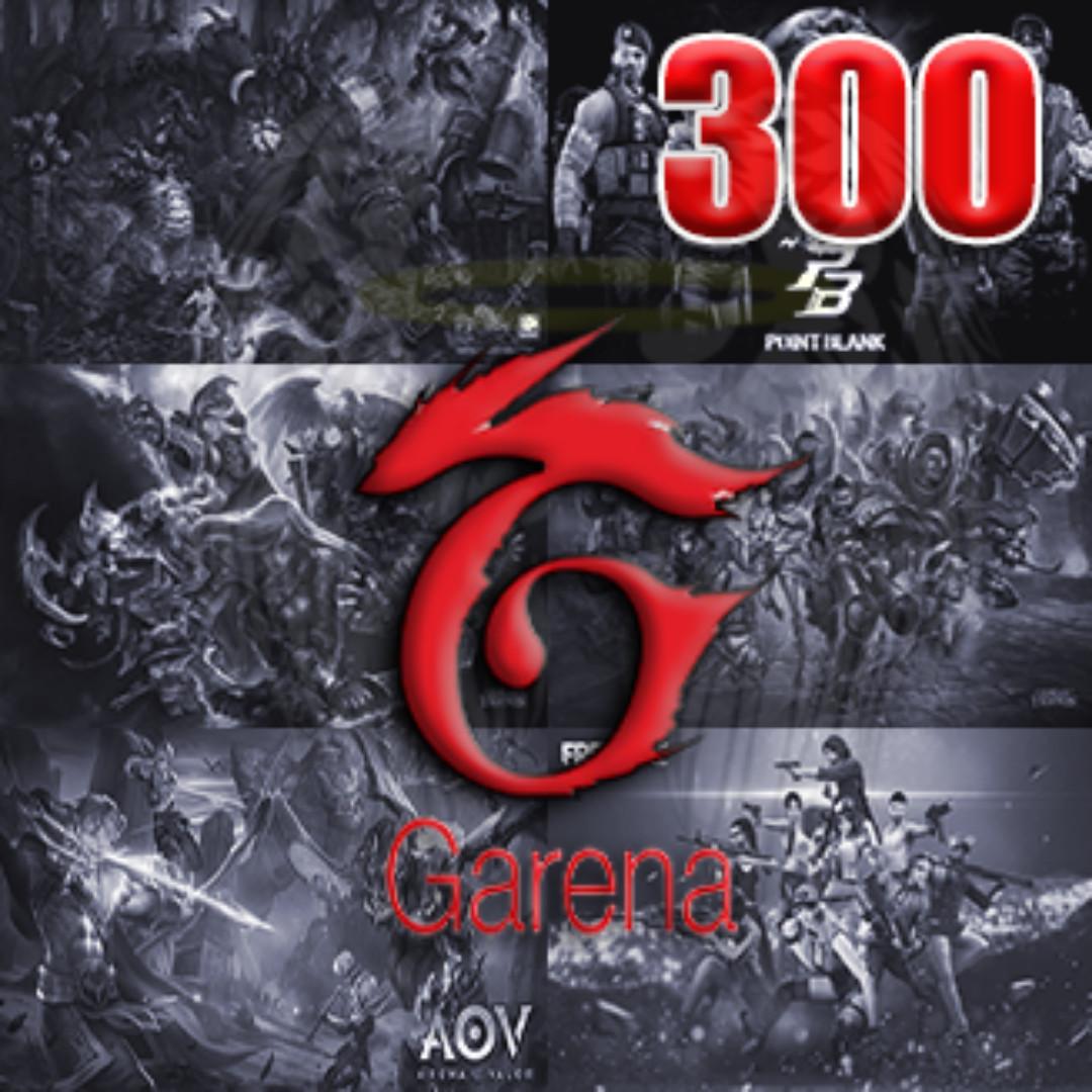Garena 300 Shells
