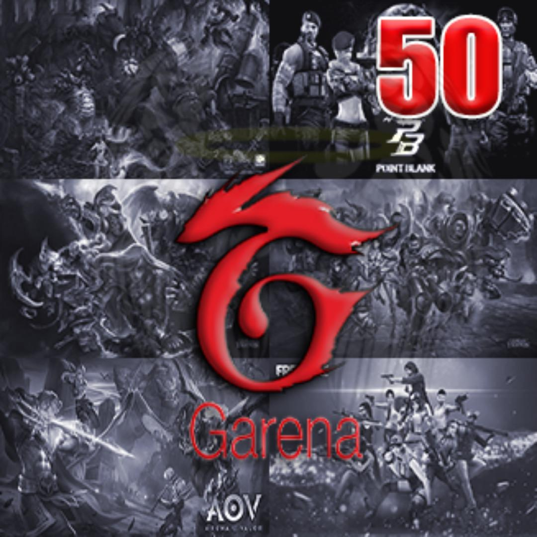 Garena 50 Shells on Carousell