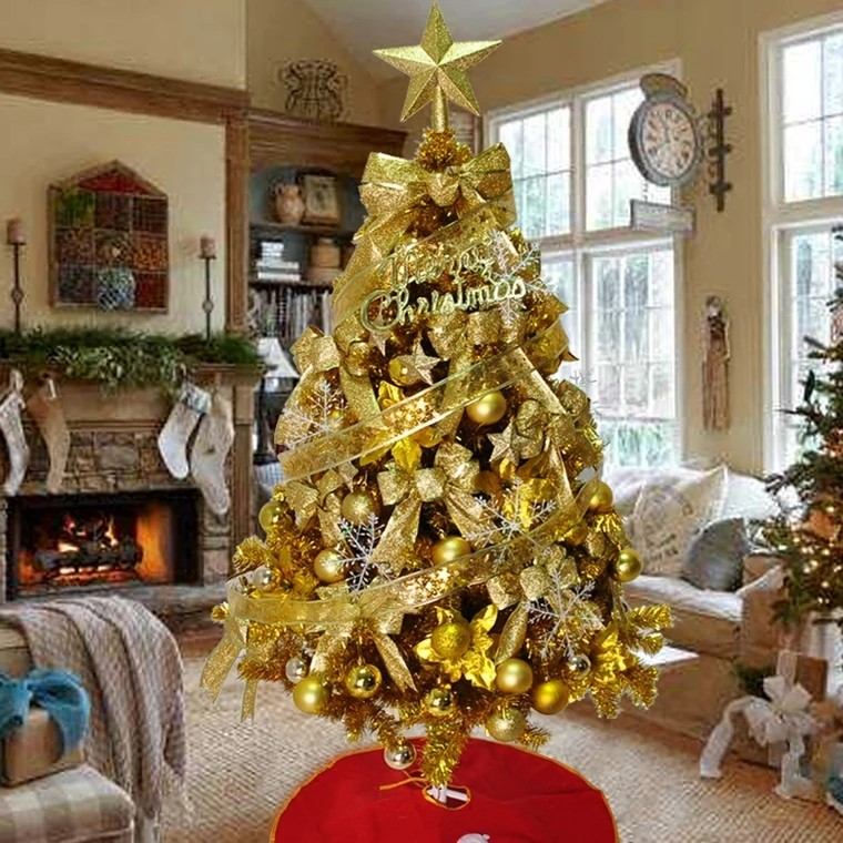Gold Fairytales Christmas Tree Furniture Home Decor Others On
