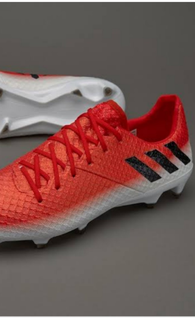 6f5beea81f4 USA 13 Grade 1 Adidas Messi 16.1 FG Soccer Cleats football boots ...